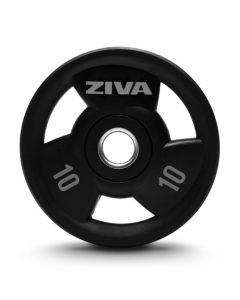 ZIVA SL Virgin Rubber Grip Disc - Set de Discos Olímpicos 80 kg